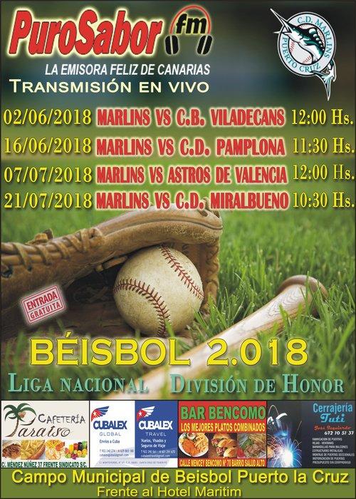 CARTEL BEISBOL MAYO 2018 CUATRO (1)