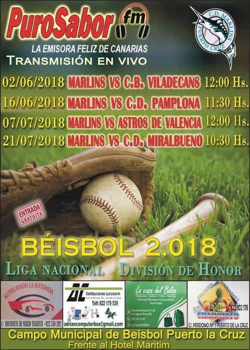 CARTEL BEISBOL MAYO 2018 TRES (1)