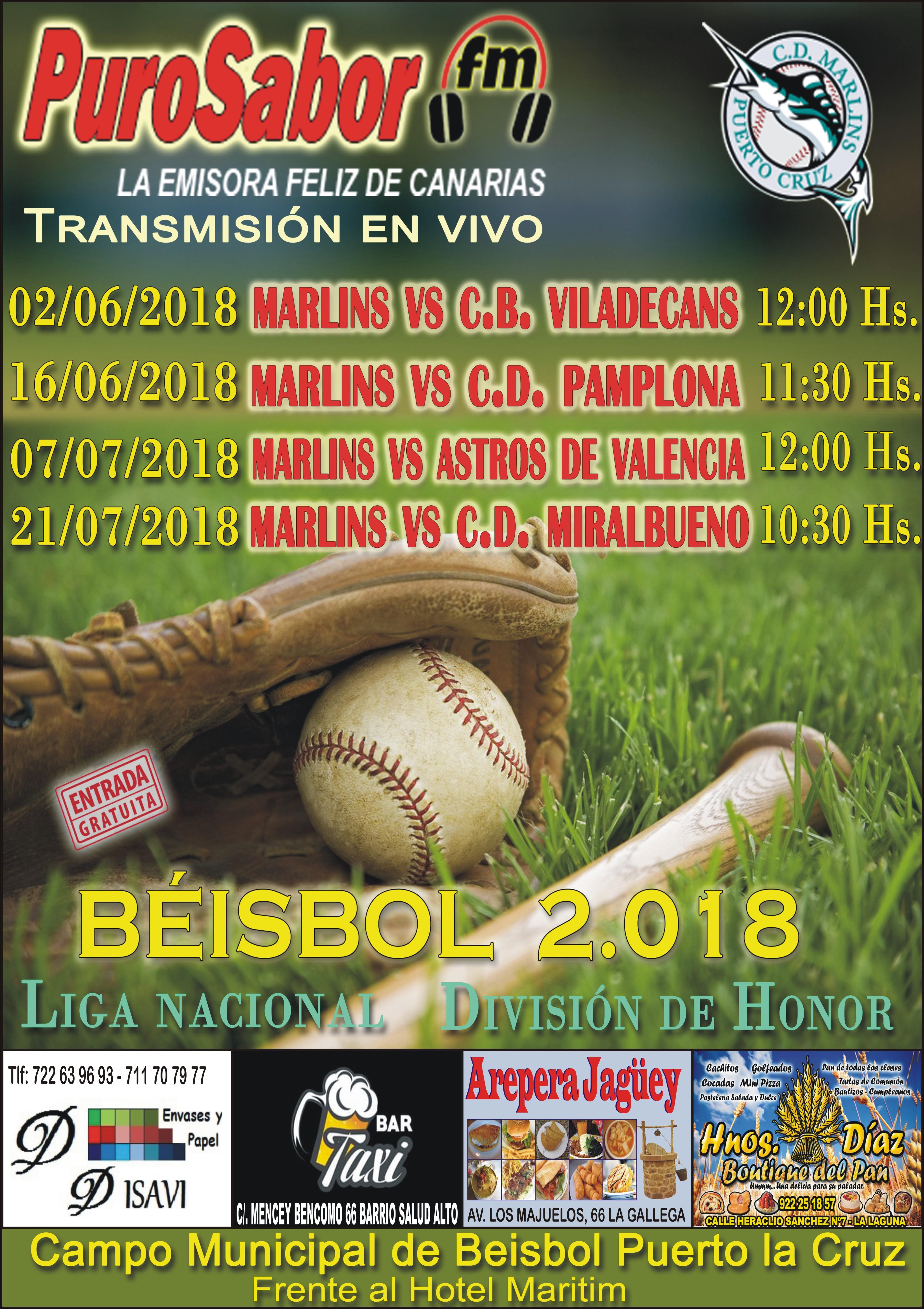 CARTEL BEISBOL MAYO 2018 DOS